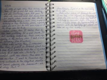 Journaling, Dream, Plan